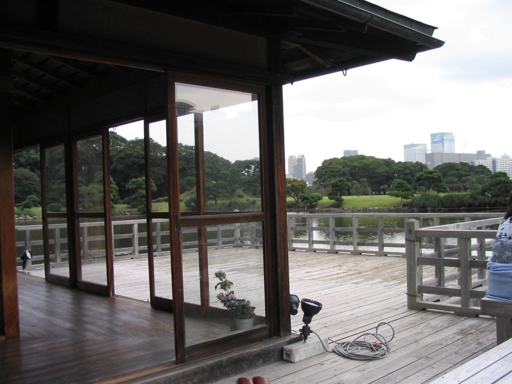 The Tea House in Hamarikyu