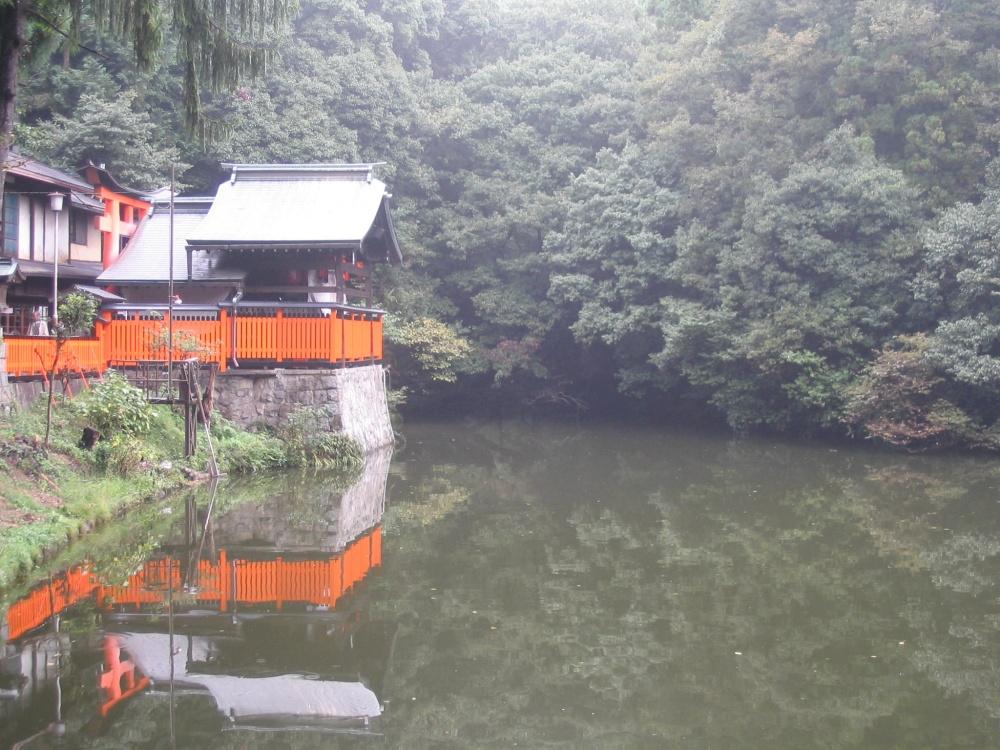 Lake amoung the tori